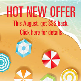 Hot New offers - the Nantucket Energy way!