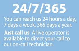 24 Hour service with Nantucket Energy